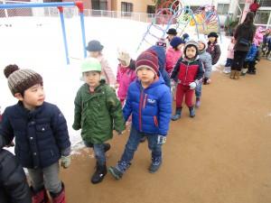 冬のお散歩☆