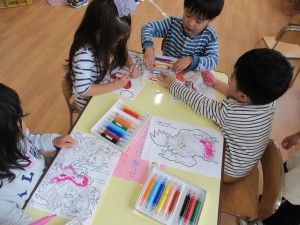 ☆今日の幼稚園☆