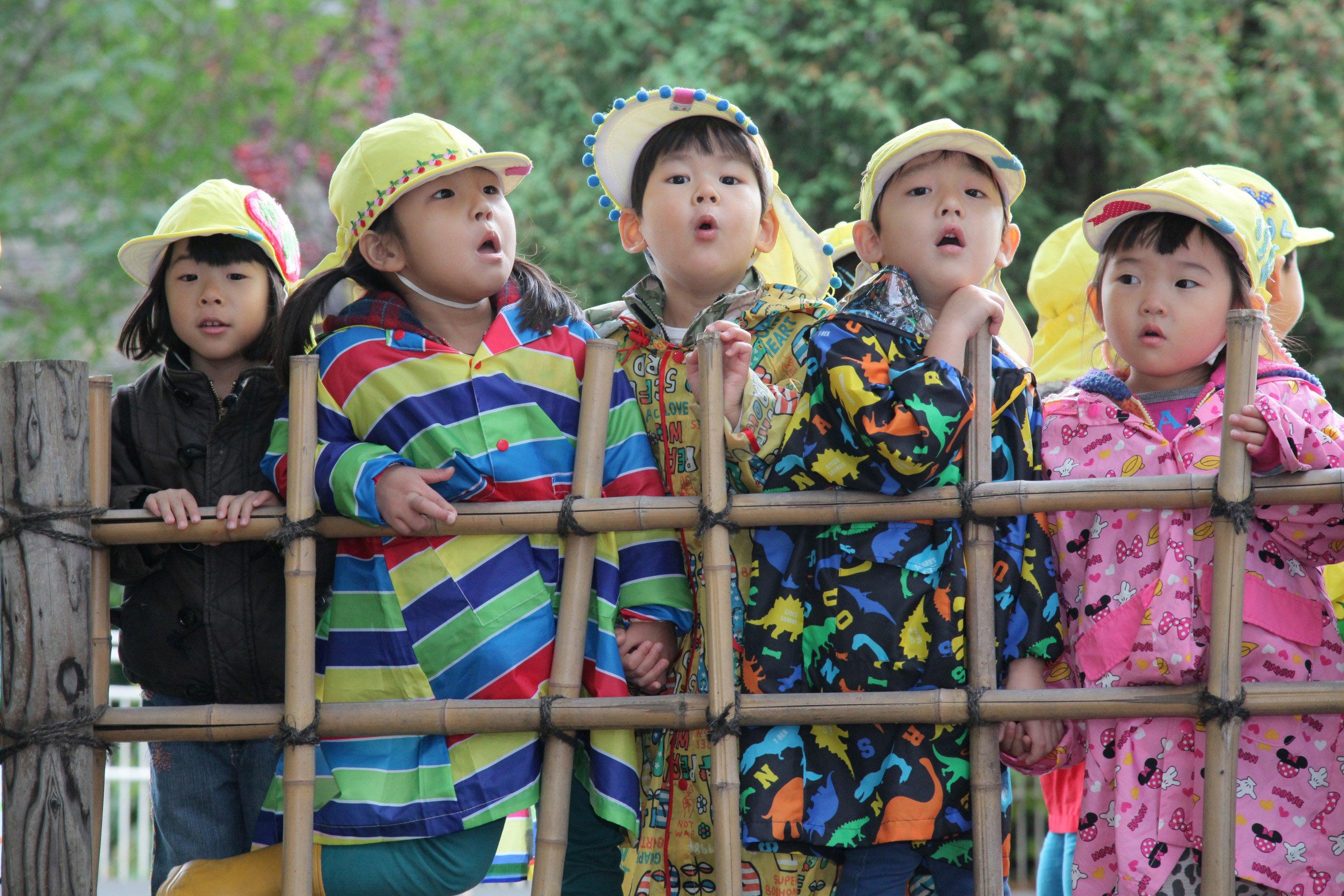 年少 動物園遠足