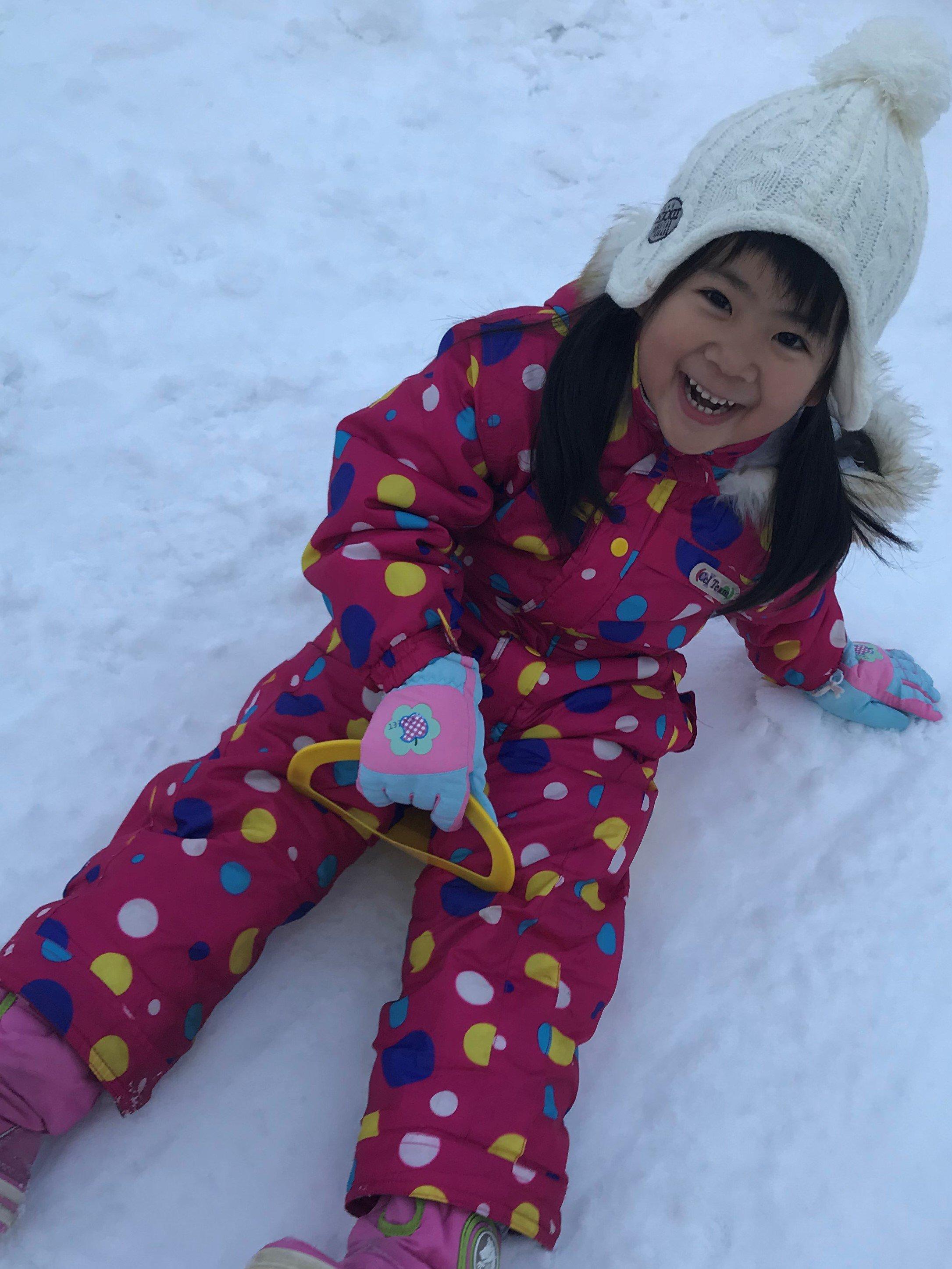 楽しい雪あそび