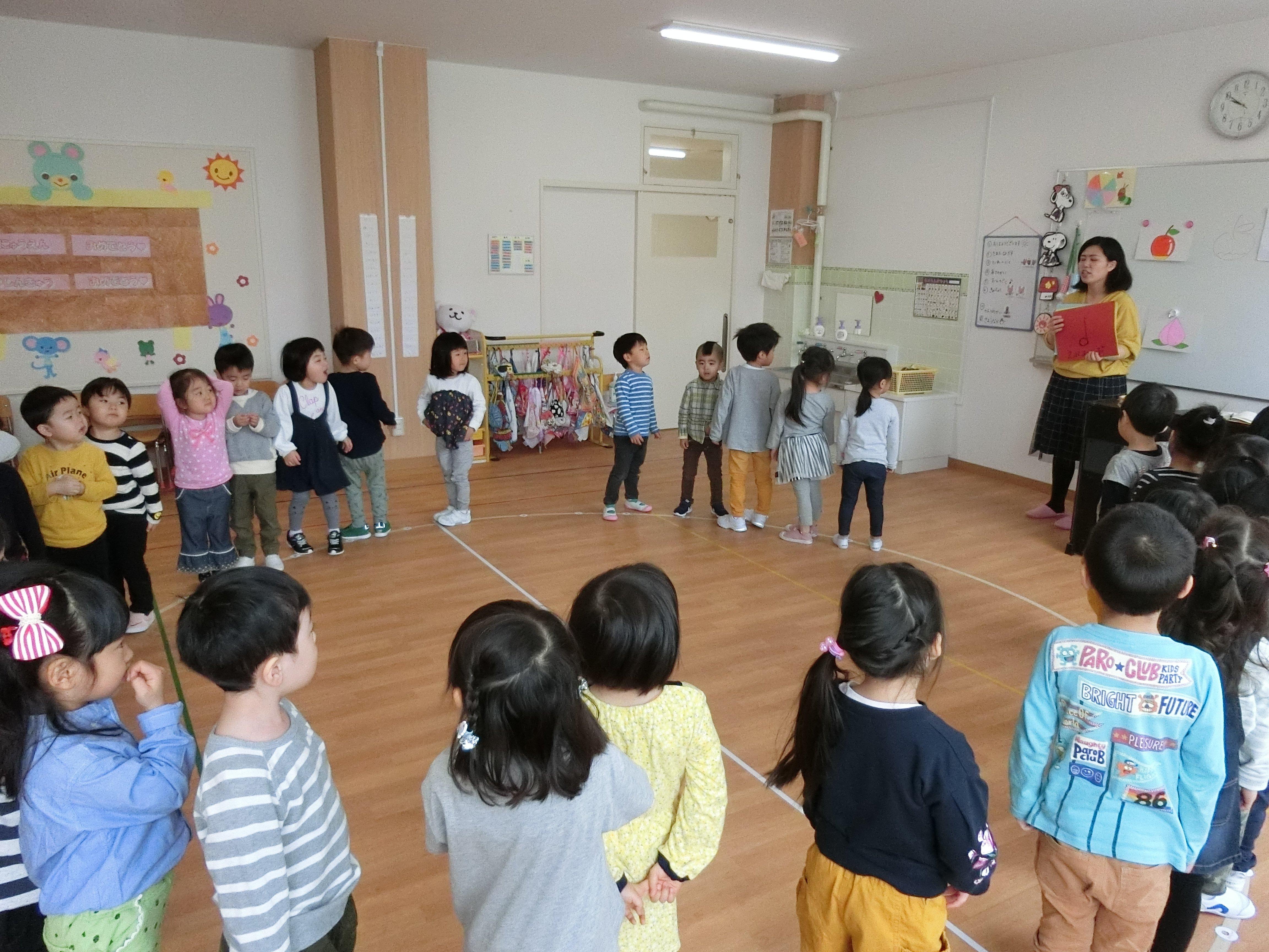 ☆本日の幼稚園は・・・?☆
