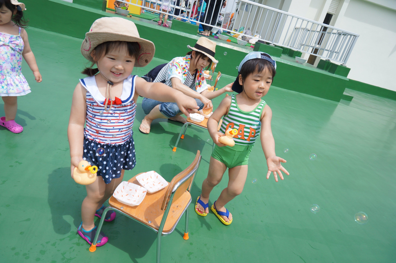未就園児クラス 水遊び☆