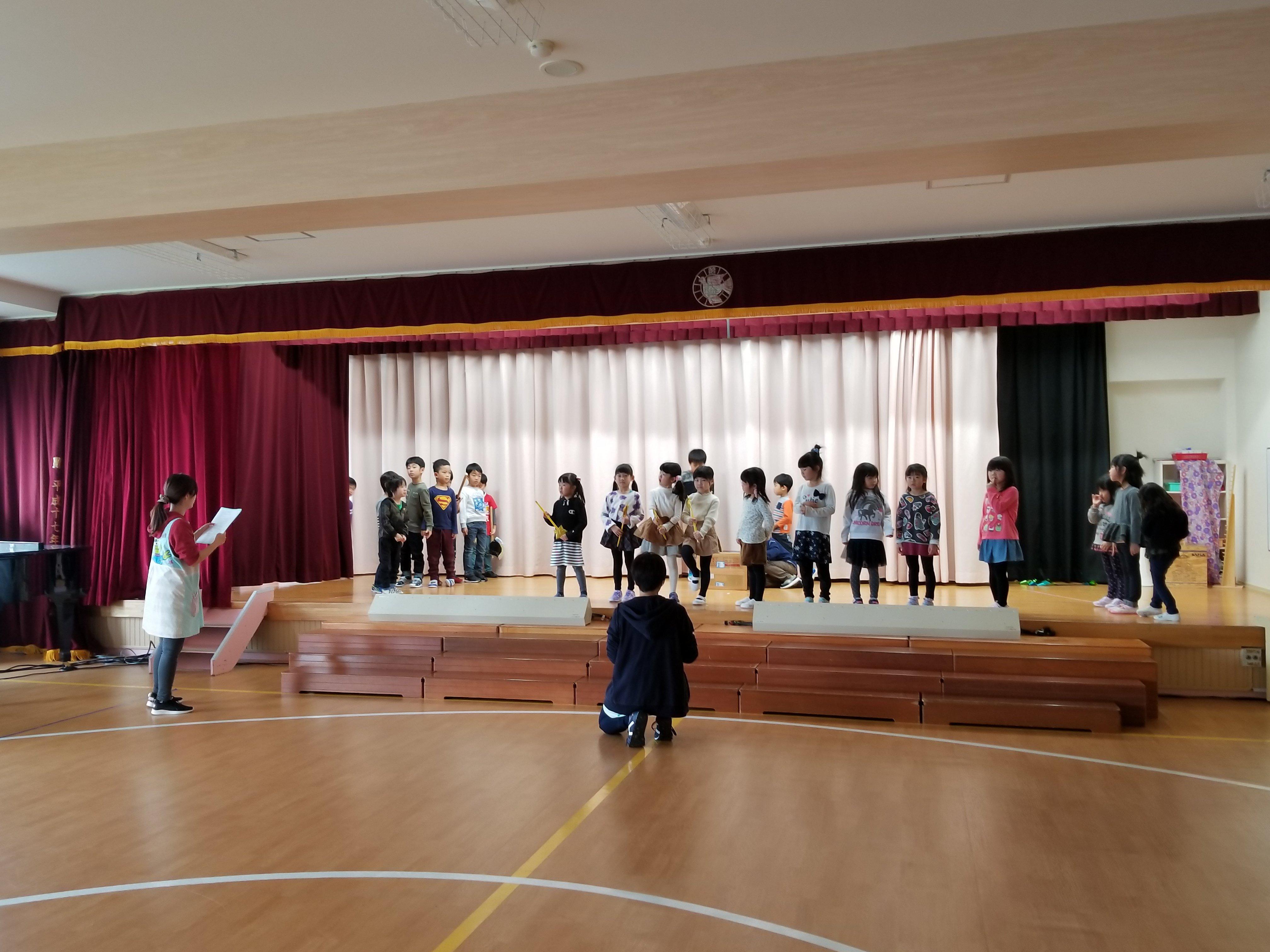 ☆発表会ステージ練習☆