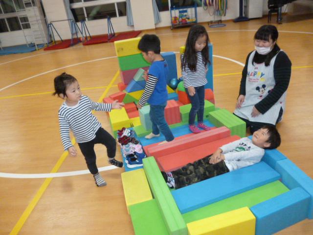 今日の幼稚園(^_^)