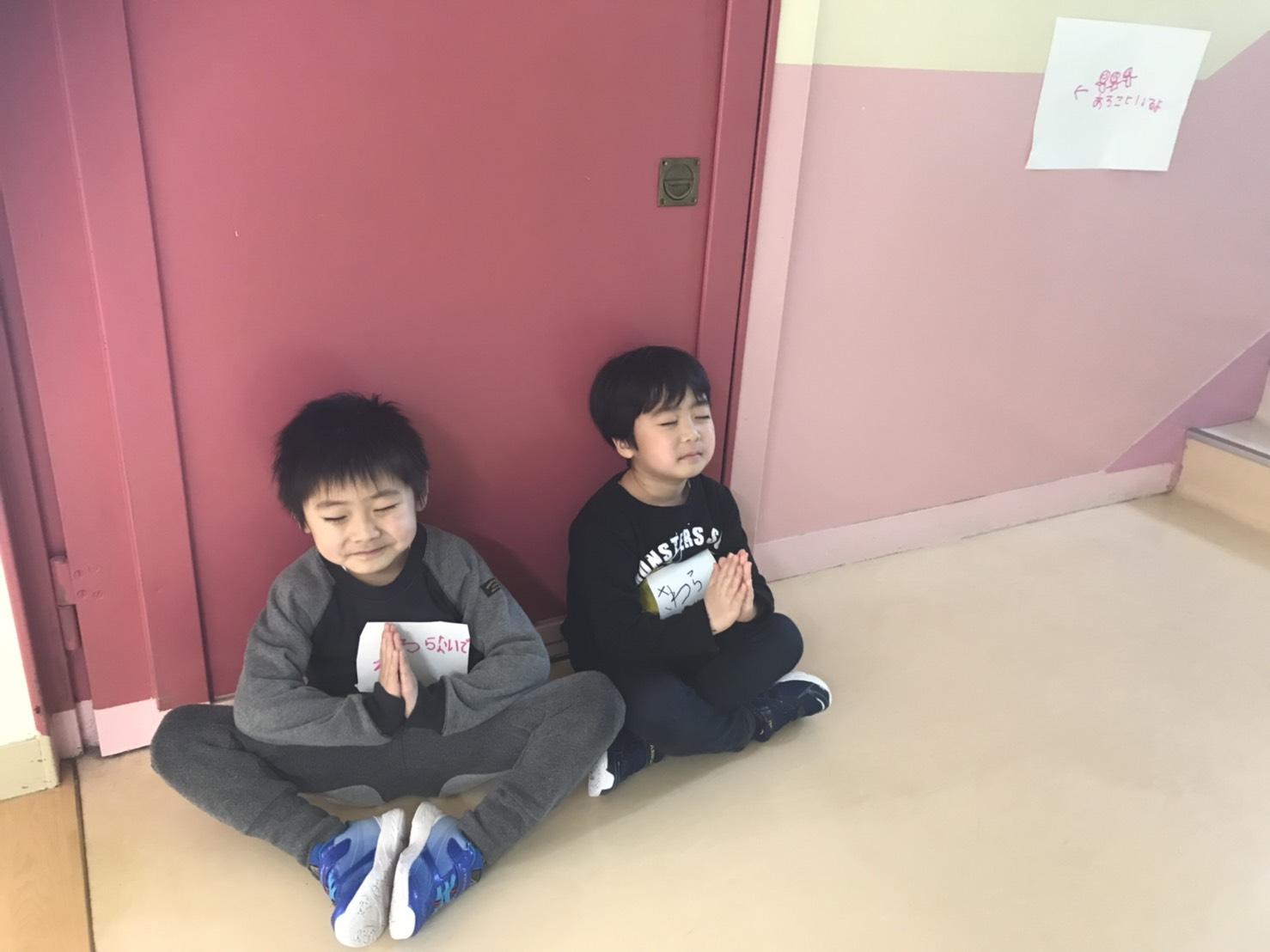 年長さん最後の参観日!