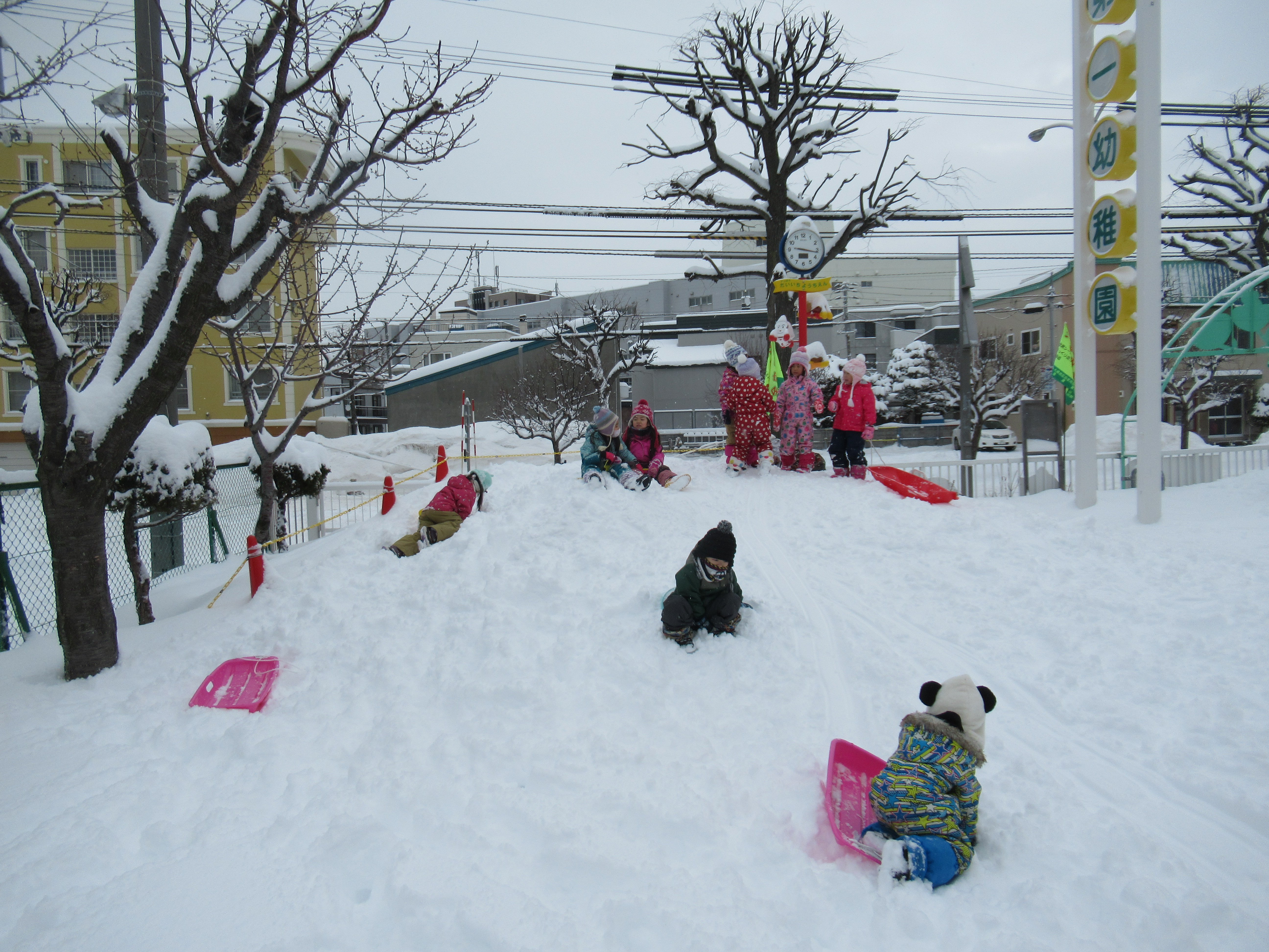 ふわふわの雪☆