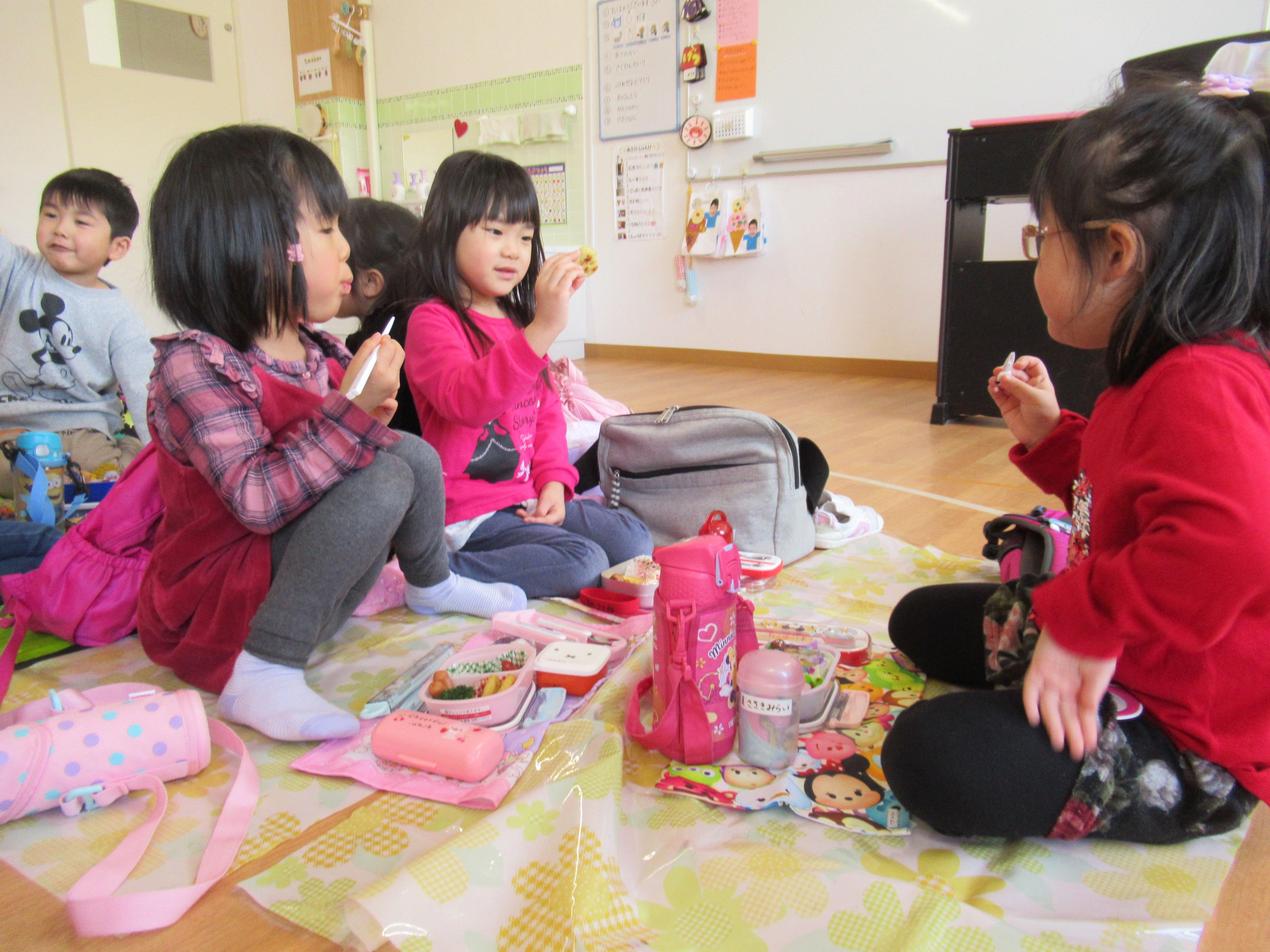久しぶりの幼稚園♪