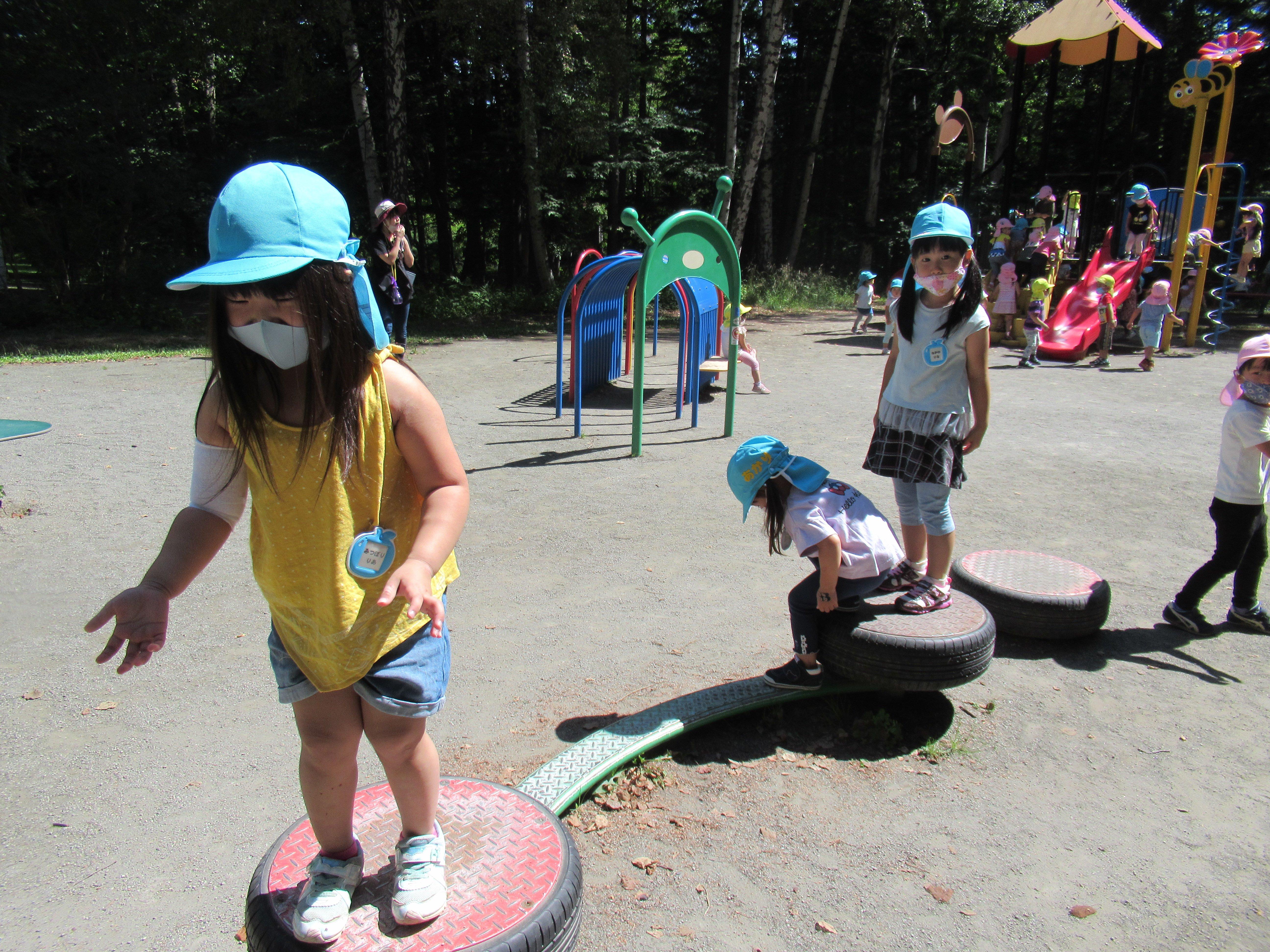 豊平公園に行ったよ!(年少組)