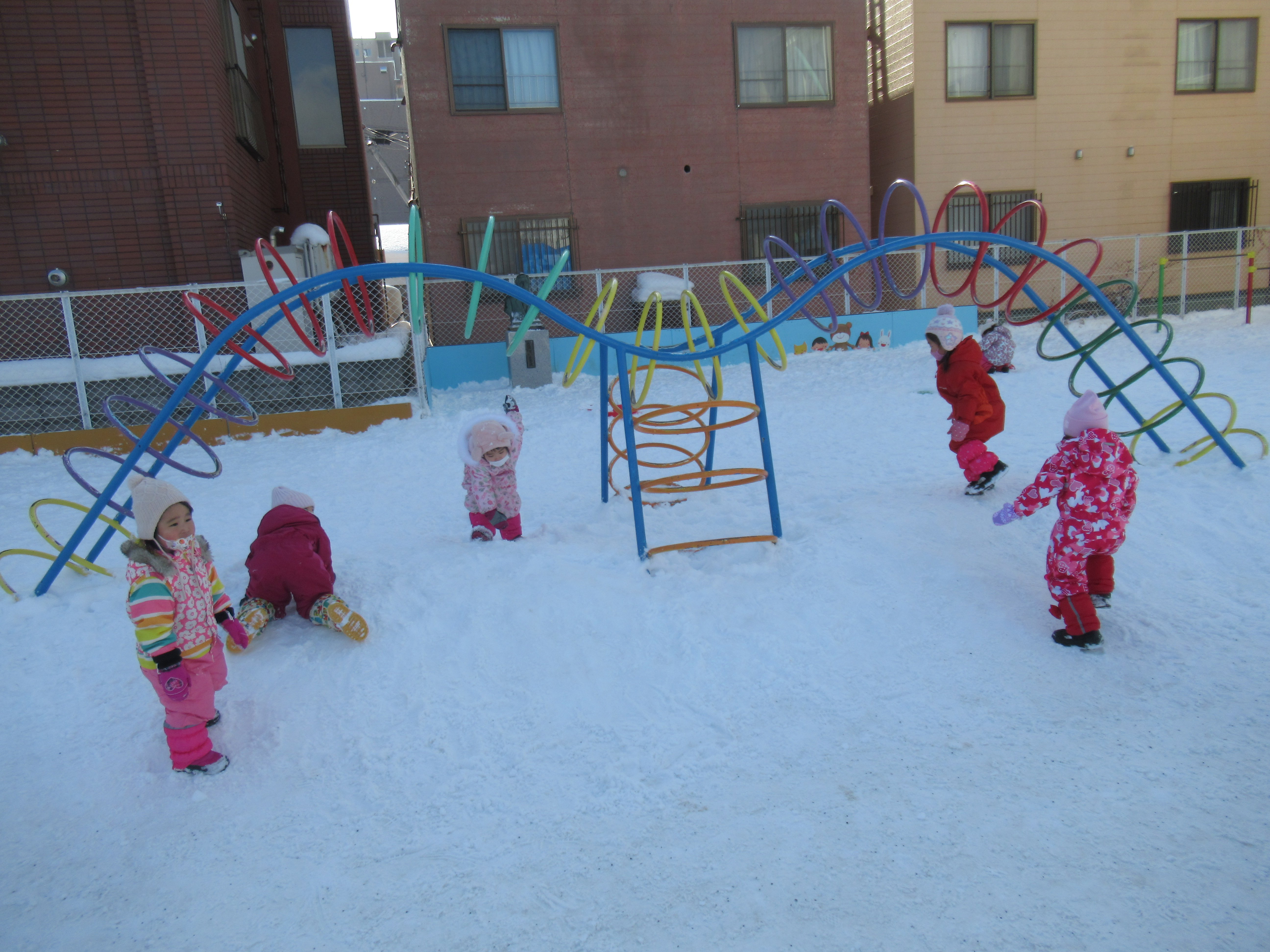 楽しい雪遊び★(ぺんぎん組)