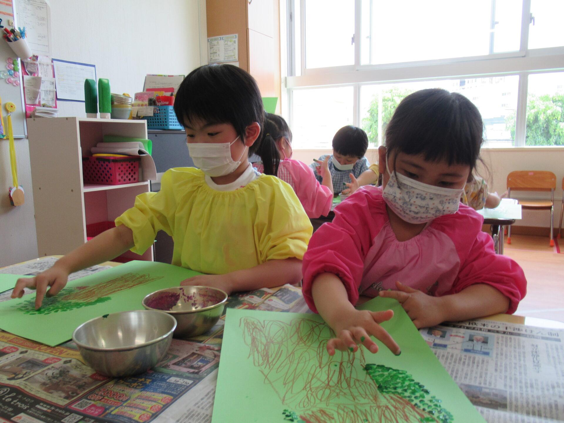 ばら組 久しぶりの幼稚園