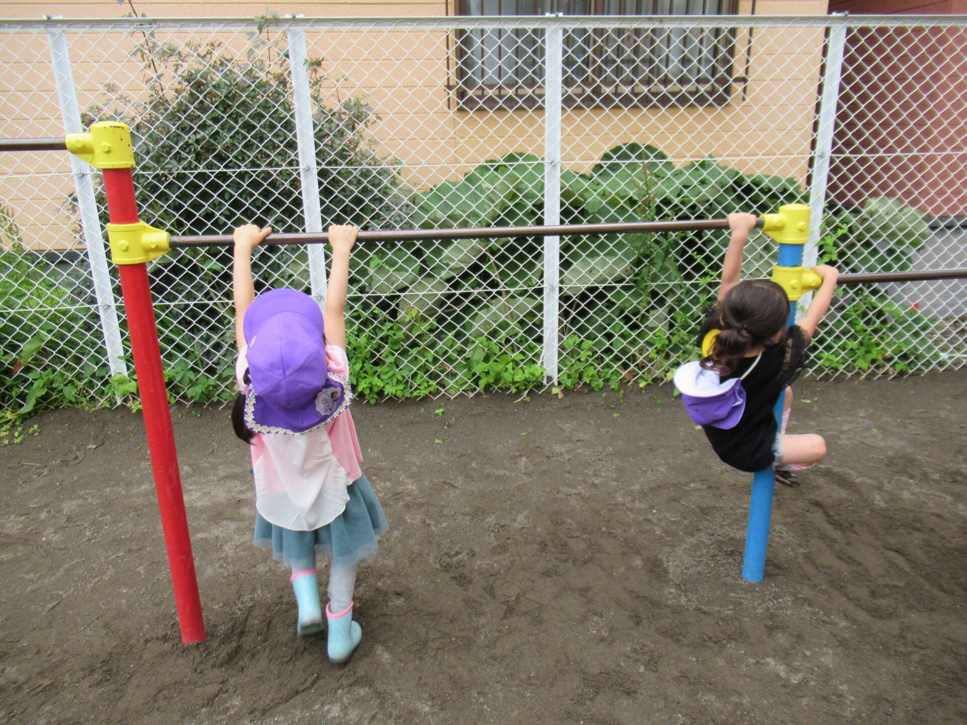こあら組 「園庭遊び♪」