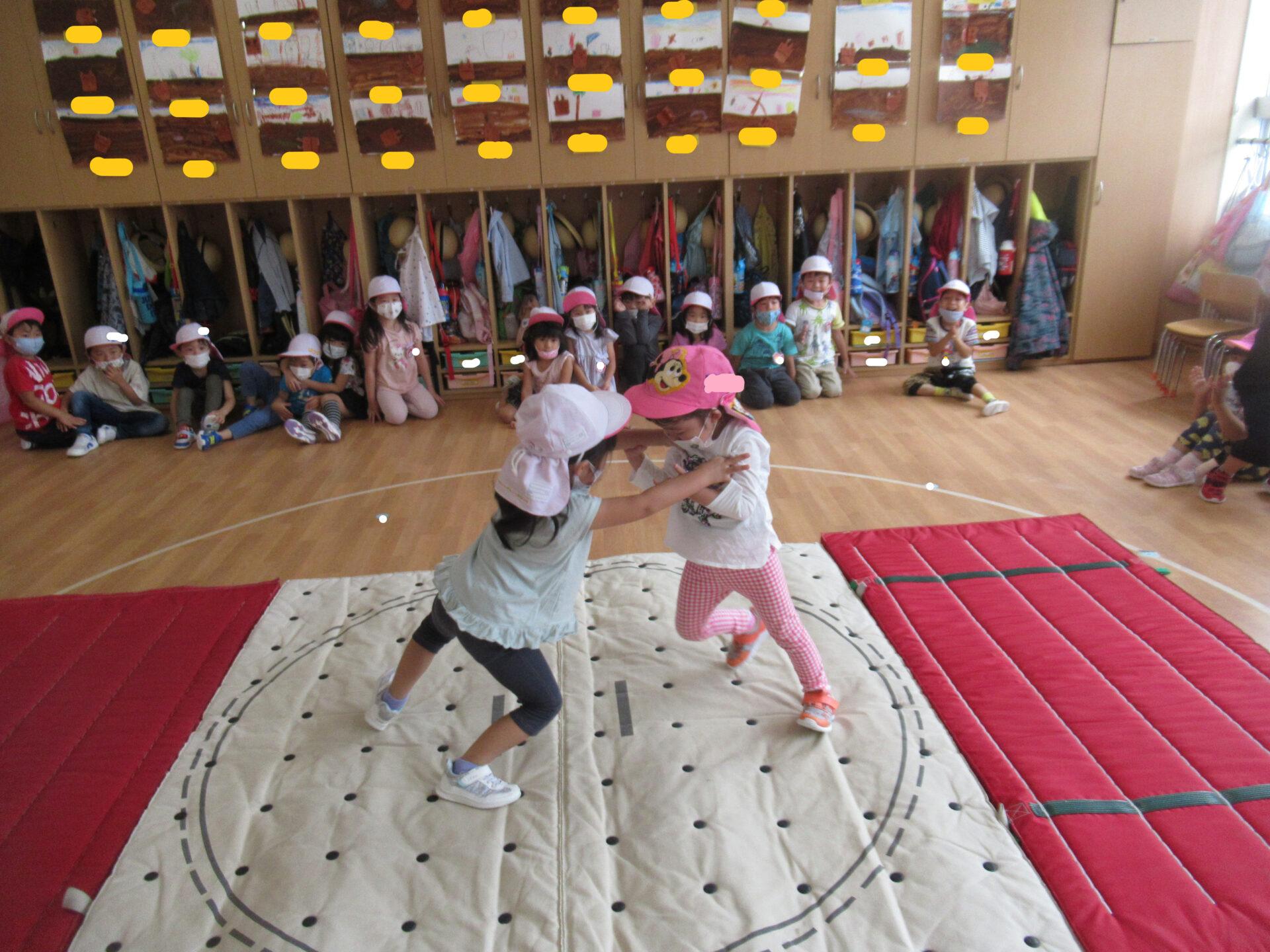 うさぎ組 第1回お相撲大会